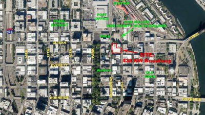 438 NW Broadway Map Overview