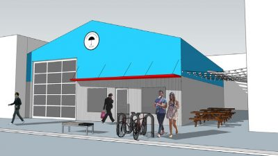 Exterior Rendering of SE 8th & Grant Portland Oregon