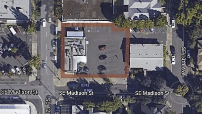 Overhead view of Jolly Roger 1340 SE 12th Ave, Portland, OR 97214